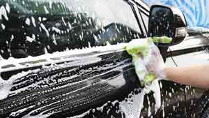 Writing Lesson in Washing the Car